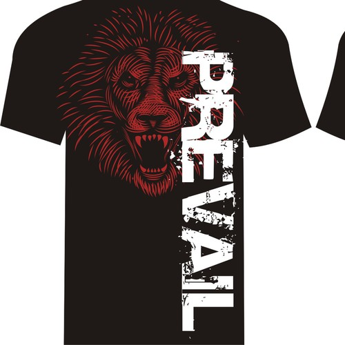 Lion t-shirt with the title 'Full Metal Jacket Apparel tee shirt design #4'