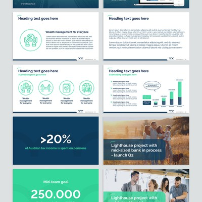 Powerpoint Template for Finabro