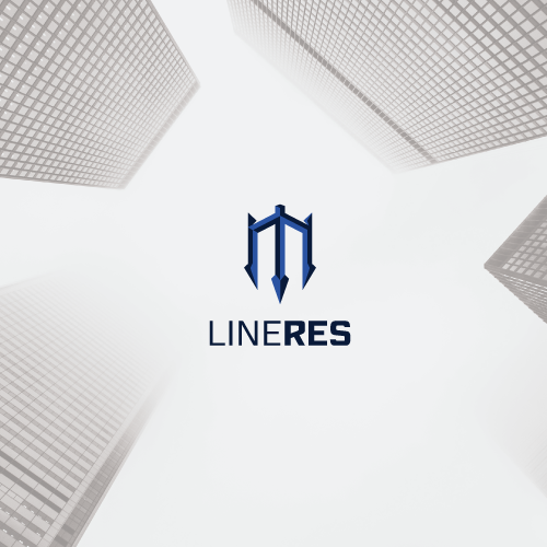 Premium logo with the title 'Modern minimal realty logo'