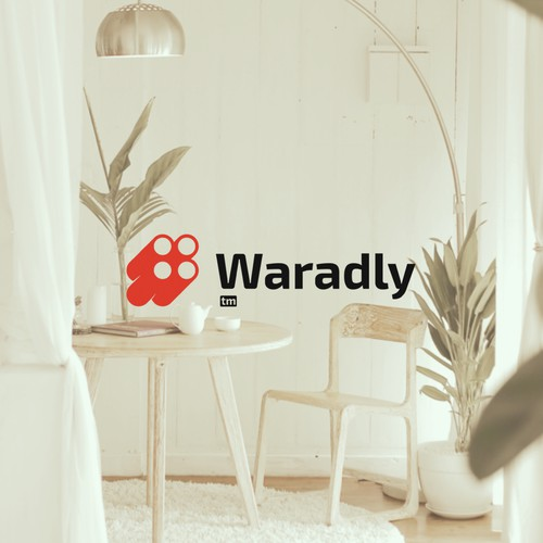 Marketplace logo with the title 'waradly ecommerce \ Brand Logo'
