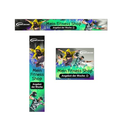 Sporting Goods Web Banners
