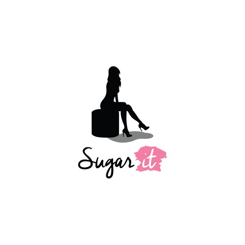 Waxing logo with the title 'Sugar It'
