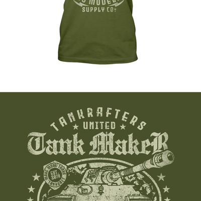 Tank Maker T-Shirt Design