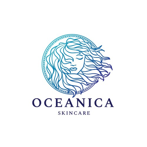 Anti aging logo with the title 'Beauty and Skincare Logo'