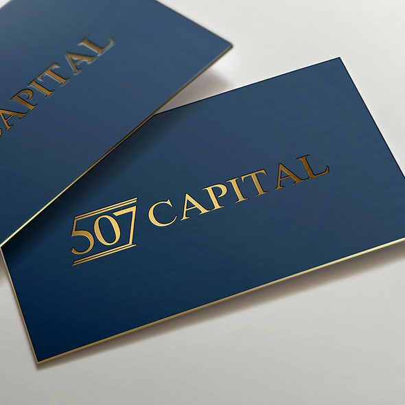 Accounting brand with the title 'Logo design'