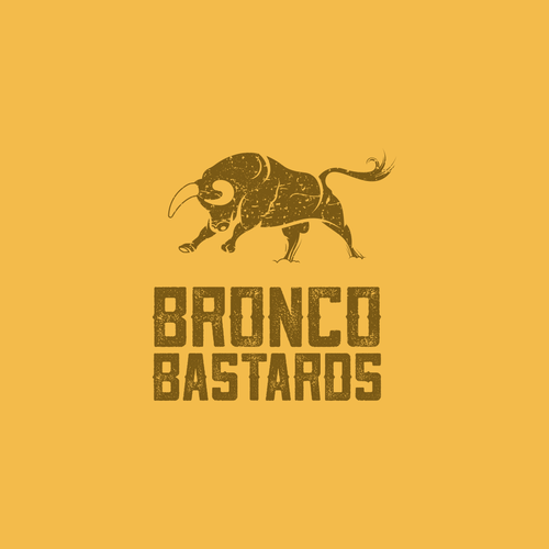 Ford design with the title 'Bronco Bastards'