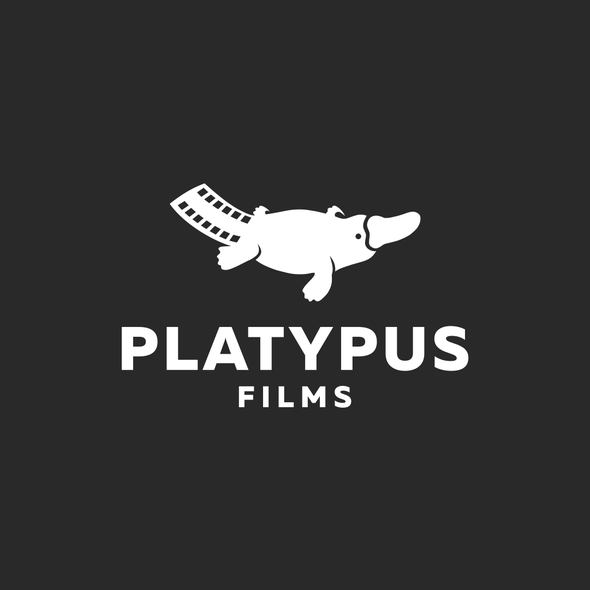 Platypus logo with the title 'Platypus film'