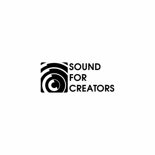 Sound wave design with the title 'Sound for creators'