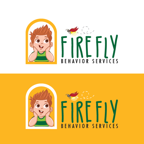 Autism logo with the title 'Firefly Behavior Services'
