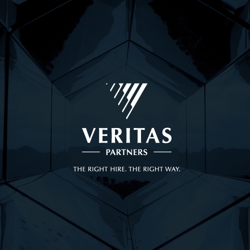 Financial service logo with the title 'Logo for Veritas Partners'