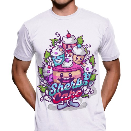 Character t-shirt with the title ' T-shirt Design'