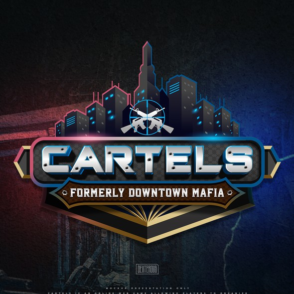 Downtown design with the title 'Cartels'