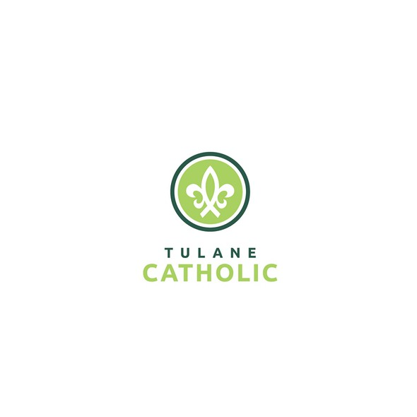 Campus logo with the title 'Logo for campus ministry (church) for students'
