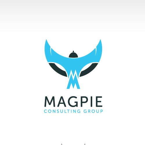 Fly design with the title 'Magpie - Custom Bird Design'