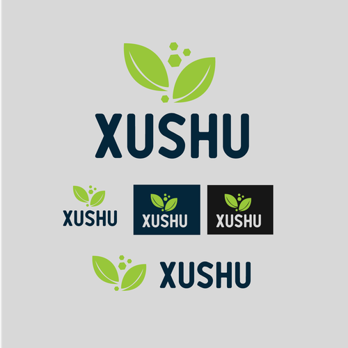 Clinic brand with the title 'Xushu Dermatology Clinic'