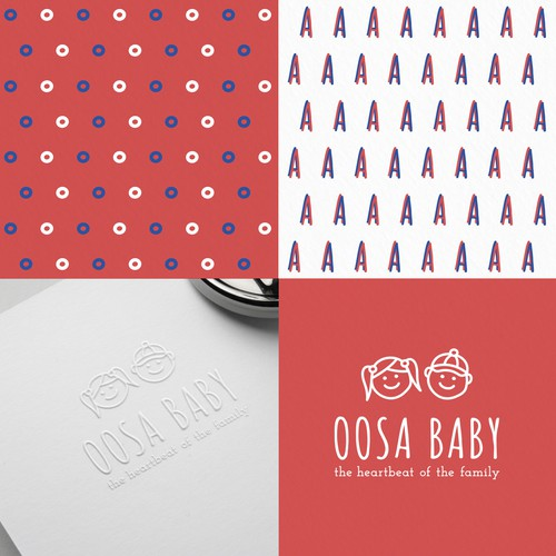 Child brand with the title 'OOSA BABY'