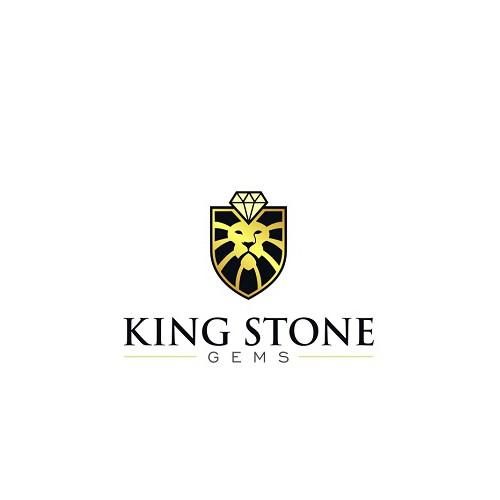 Gem design with the title 'High end on-line retailer of gemstones requiring a logo design'