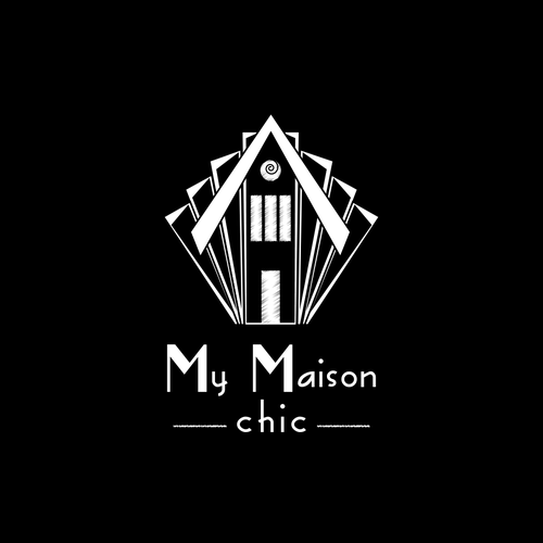 Homeware logo with the title 'logo concept for chalk painting store'