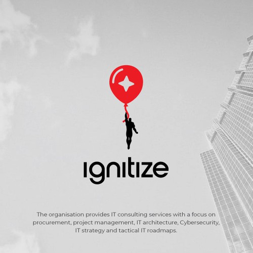 Sky design with the title 'Ignitize'