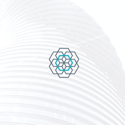 Sacred logo with the title 'Flower of life, reimagined'