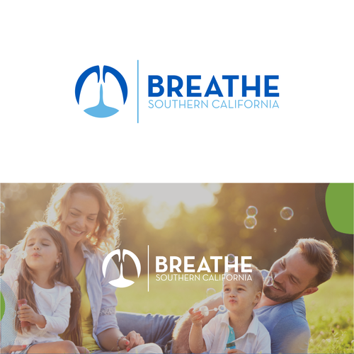 Volunteer logo with the title 'Breathe'