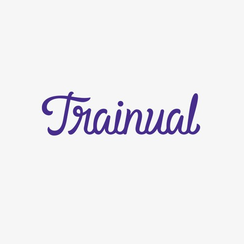 Course design with the title 'Online Training Logo Design'