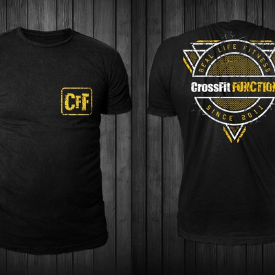 CrossFit FUNCTION t-shirt design