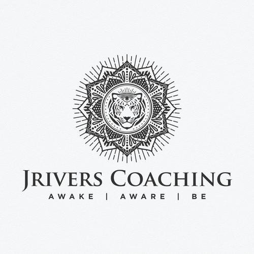 Zen logo with the title 'JRivers Coaching Logo, spirituality based career coaching.'