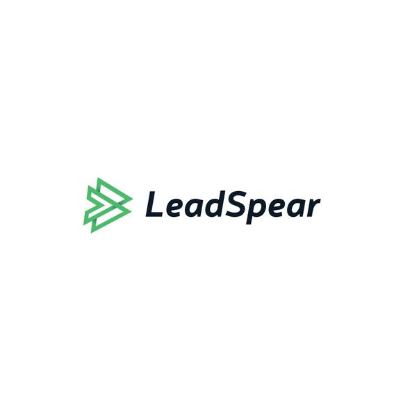 Spear logo with the title 'Arrow frame logo'