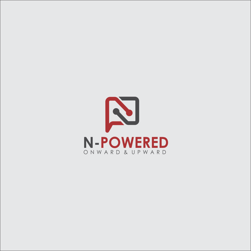PNG design with the title 'logo N-POWERED'