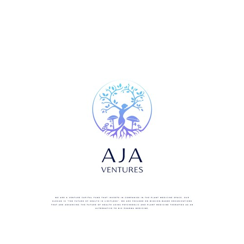 Spirit design with the title 'Logo Aja Ventures'