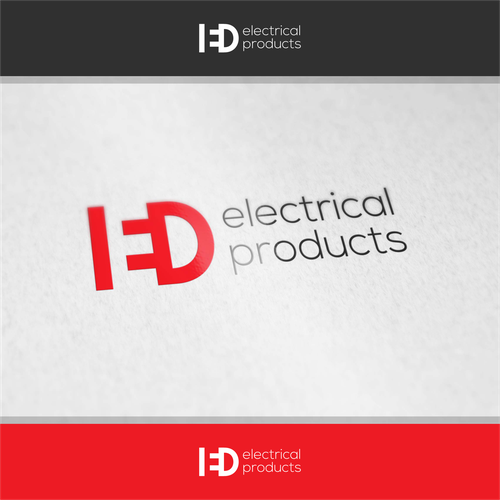 Electrical logo with the title 'ied electricity'