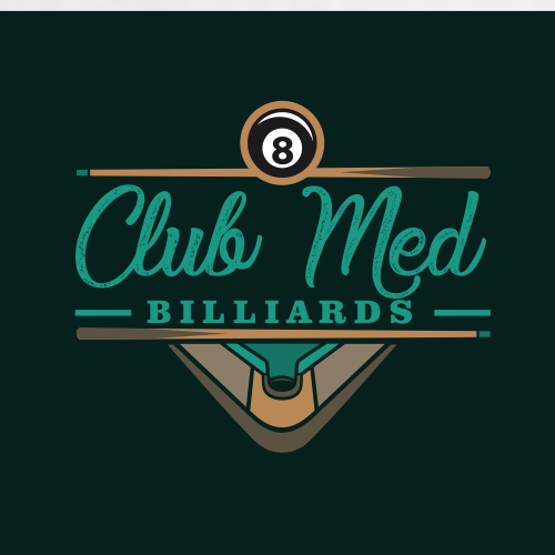 Pub logo with the title 'ClubMedBilliards'