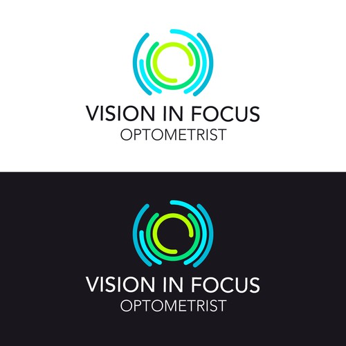 Focus logo with the title 'Logo concept for an Optometrist'