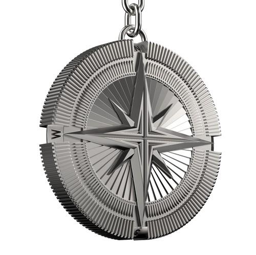 Keychain design with the title 'Keychain design.'