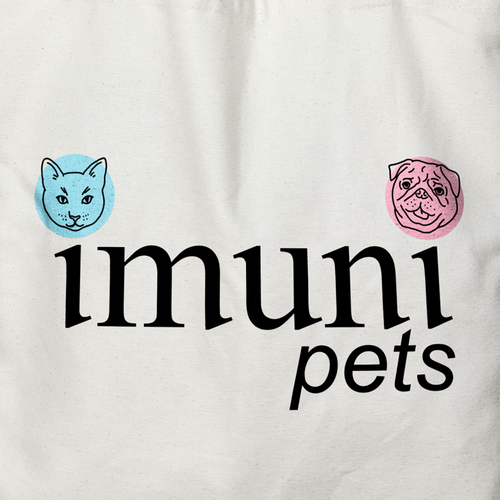 Pug logo with the title 'Logo for pet immunization and vaccinations company'