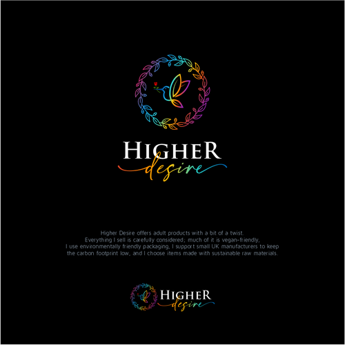 Brand with the title 'Higher Desire'