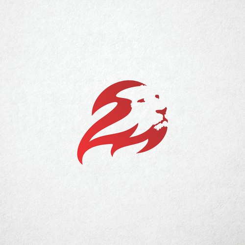 Startup logo with the title 'Lion Fire Group'