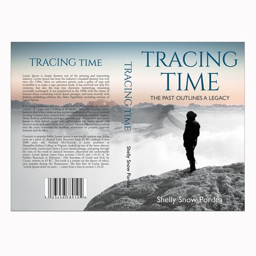 Love design with the title 'TRACING TIME'
