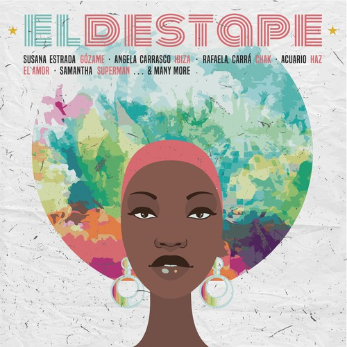 Groovy design with the title 'EL DESTAPE '