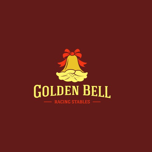 Gold tree logo with the title 'Golden Bell Racing Stables'