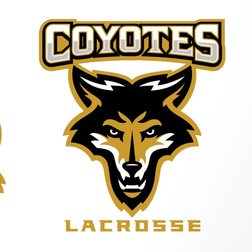 Coyote design with the title 'COYOTES'