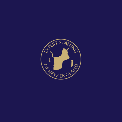 Staffing logo with the title 'Logo for staffing agency based in New England Area'