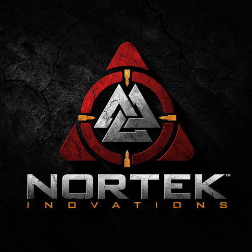Army design with the title 'Logo design for Nortek Innovations'