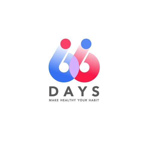 Training logo with the title '«66 Days» logo'