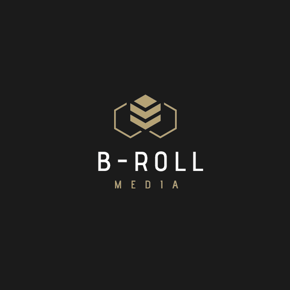 Drone photography logo with the title 'B-Roll Logo'