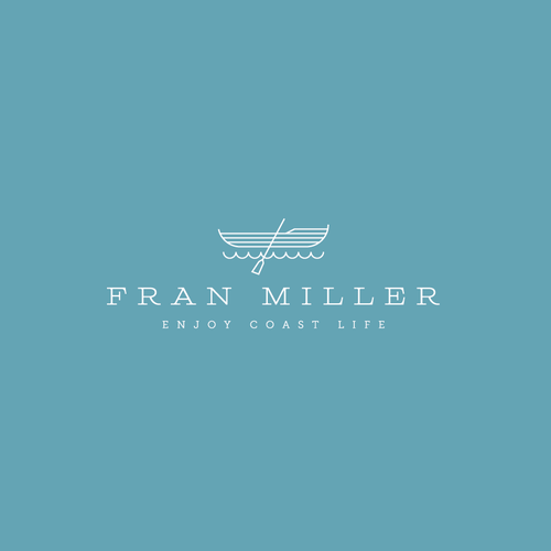 Sea logo with the title 'Fran Miller Logo'