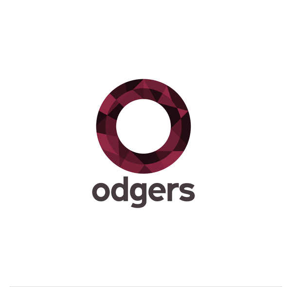 Maroon design with the title 'odgers law firm'