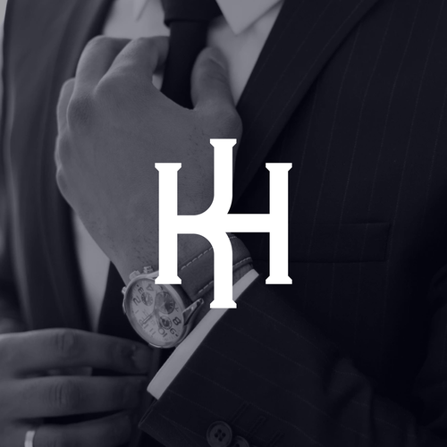 Clean brand with the title 'KH - Monogram'