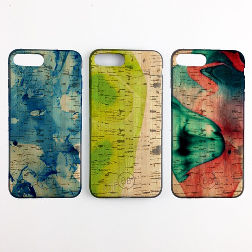 Marble design with the title 'Iphone case design concept'